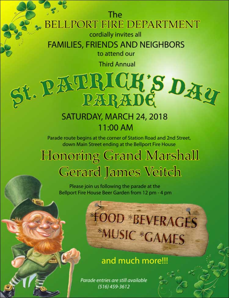 St Patrick's Day Parade 2018
