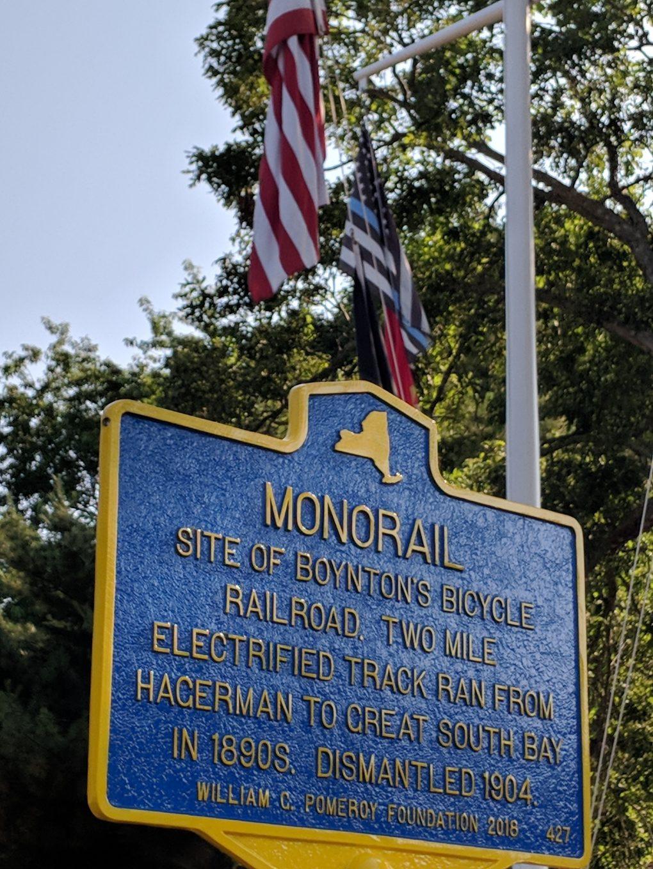 Historical Marker - Boynton Bicycle Railroad